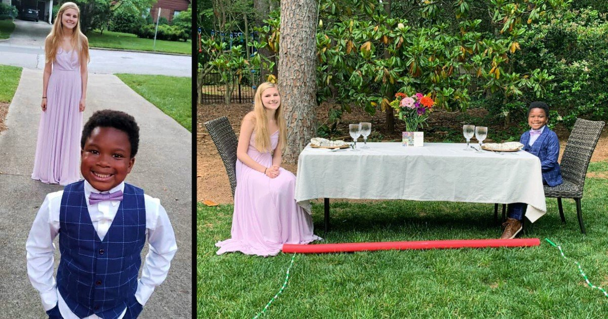 prom set up at home for babysitter