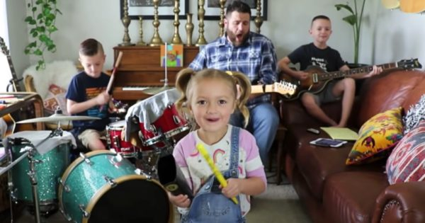 Family Band Accidentally Goes Viral And Just May Be 1 of the Best Things to Come Out of Quarantine