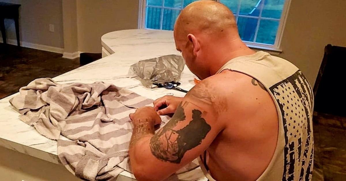 husband sewing jill duchman