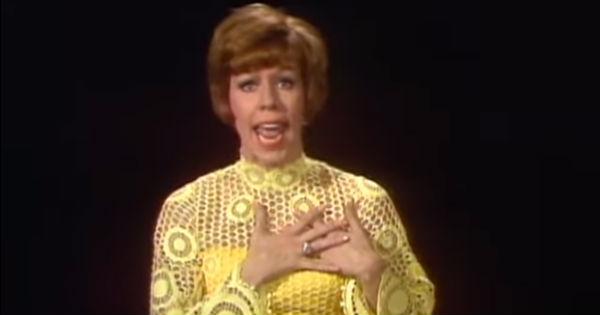 Carol Burnett sings Trolley Song