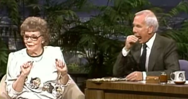 Johnny Carson potato chip lady prank