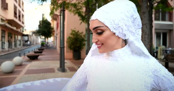 Wedding Photographer's Camera Catches Beirut Blast As He Films Bride On Her Big Day