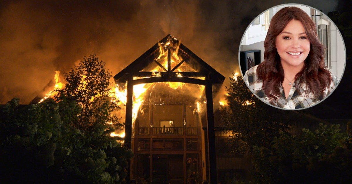 Rachael Ray House Fire Leaves Star Grateful For What Survived