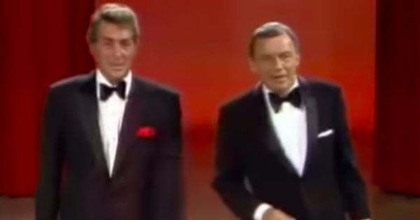 Frank Sinatra and Dean Martin duet