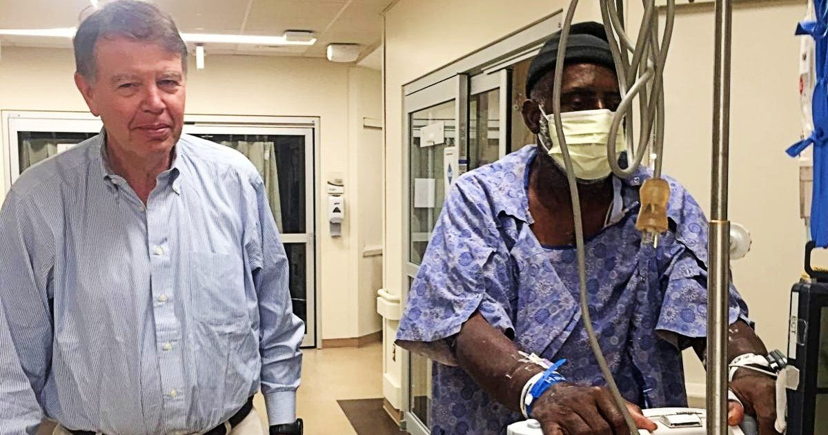 life-saving surgery friendship between rivals