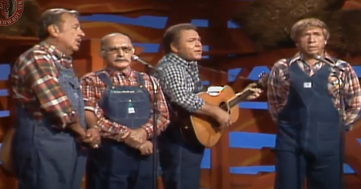 Hee Haw Gospel Quartet 'Gone Home'