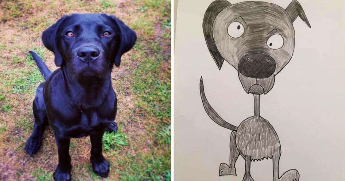 bad pet drawings phil Heckels