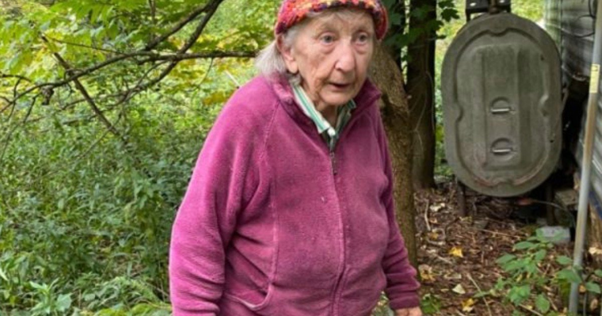 running water restored for 85 year old