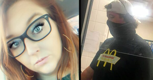 Teenager Working at McDonald's Pays for Mom Who's in Tears, So She Comes Back with $40k