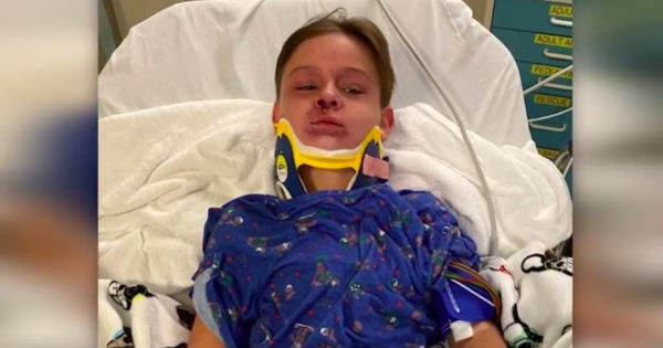 Heroic Mom Saves 8-Year-Old Son After Tangled Seatbelt Nearly Chokes Him To Death