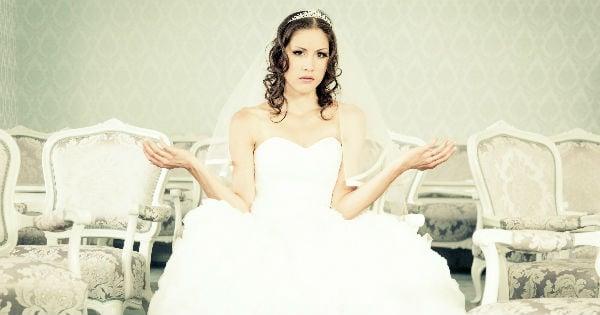 ungrateful bride