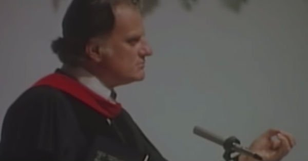 Billy Graham speech on change
