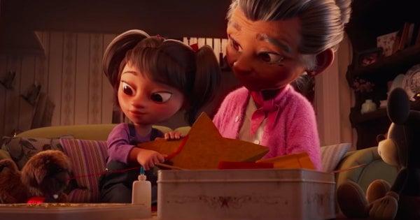 Disney Christmas Ad 2020