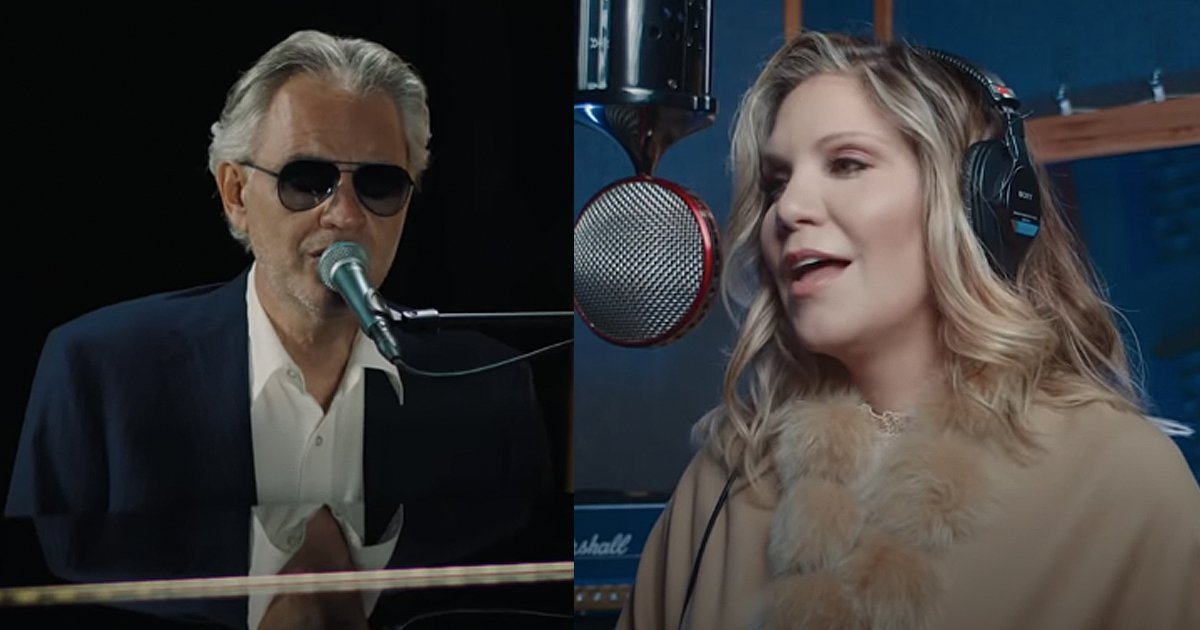 Andrea Bocelli and Alison Krauss Amazing Grace