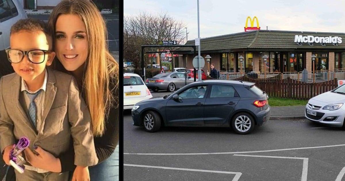 mcdonald's drive-thru kindness blake durham
