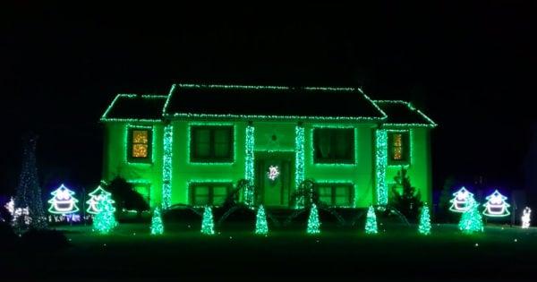 lights on display That's Christmas to Me Pentatonix