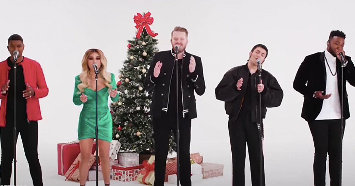 Pentatonix performs Amazing Grace (My Chains Are Gone)