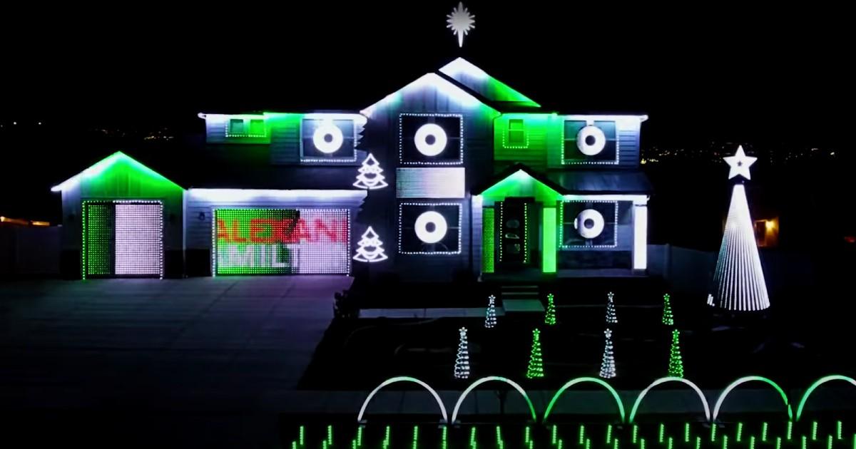christmas light display hamilton