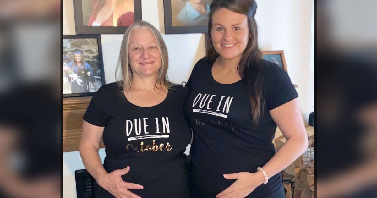 mother is surrogate for daughter