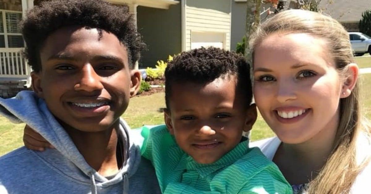 teacher adopts student chelsea haley