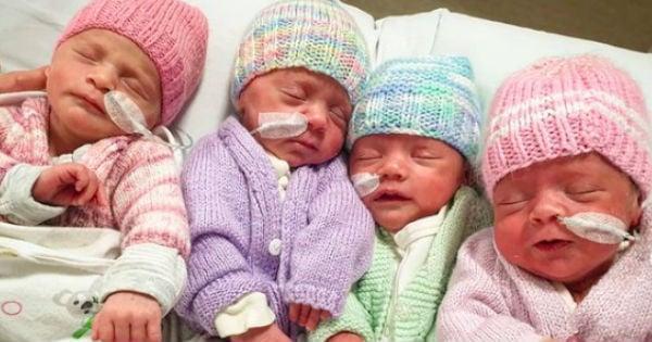 quadruplets birth