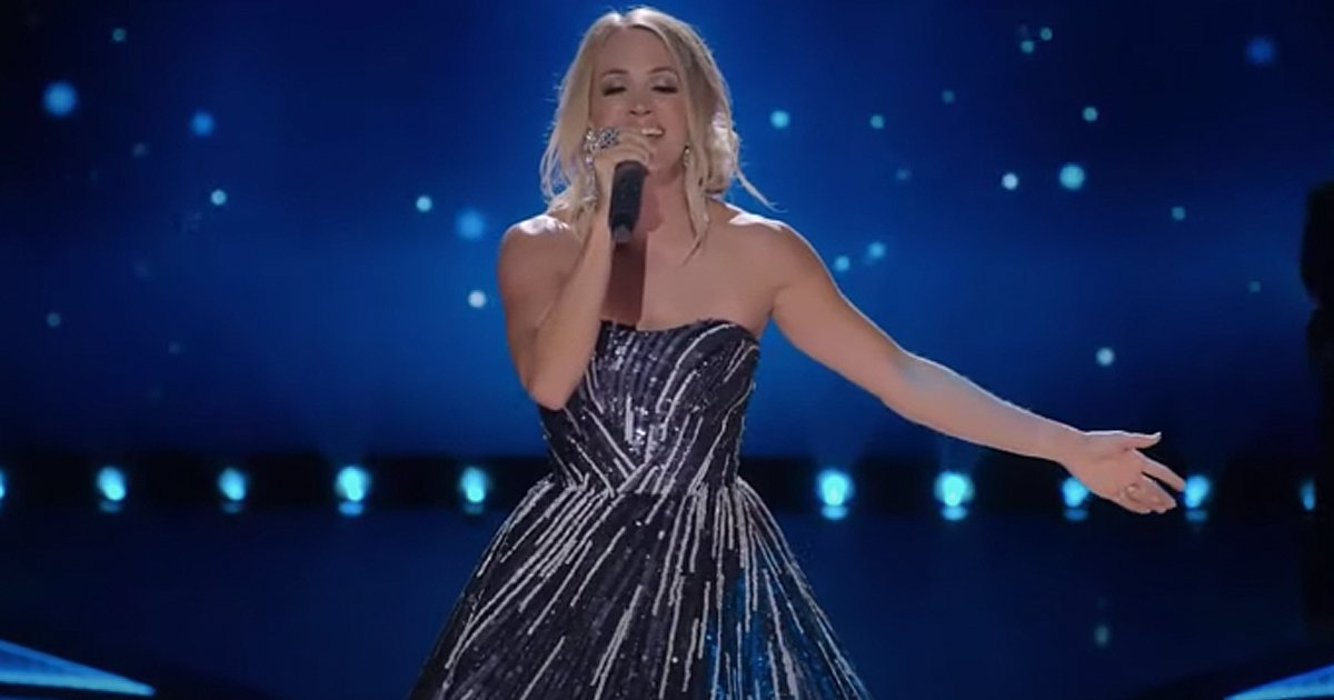 Something In The Water Live Performance Carrie Underwood