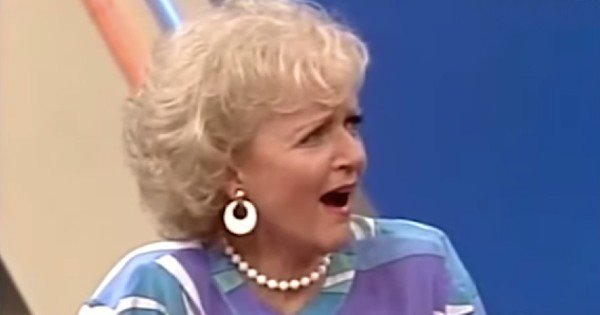 Betty White On Password with Lucille Ball