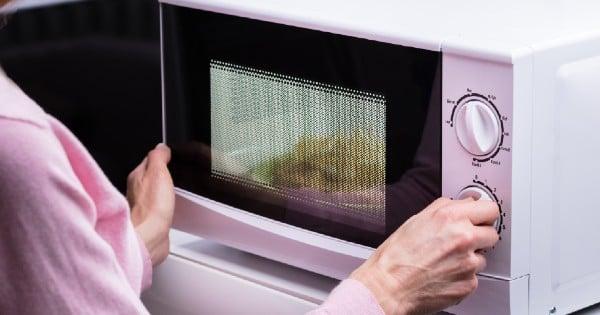 broken microwave