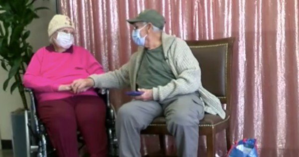 couple married 72 years reunited
