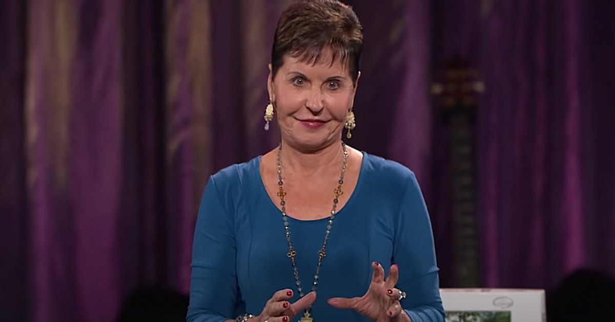 Joyce Meyer preaching God Winks