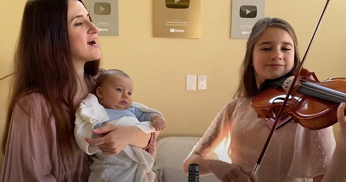 Karolina Protsenko Hallelujah duet with mother