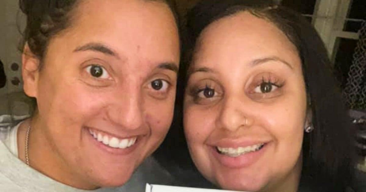 biological sisters reunite at work