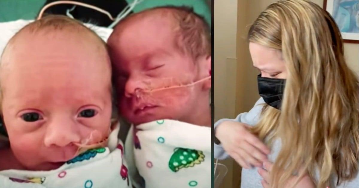 newborn quadruplets texas snowstorm