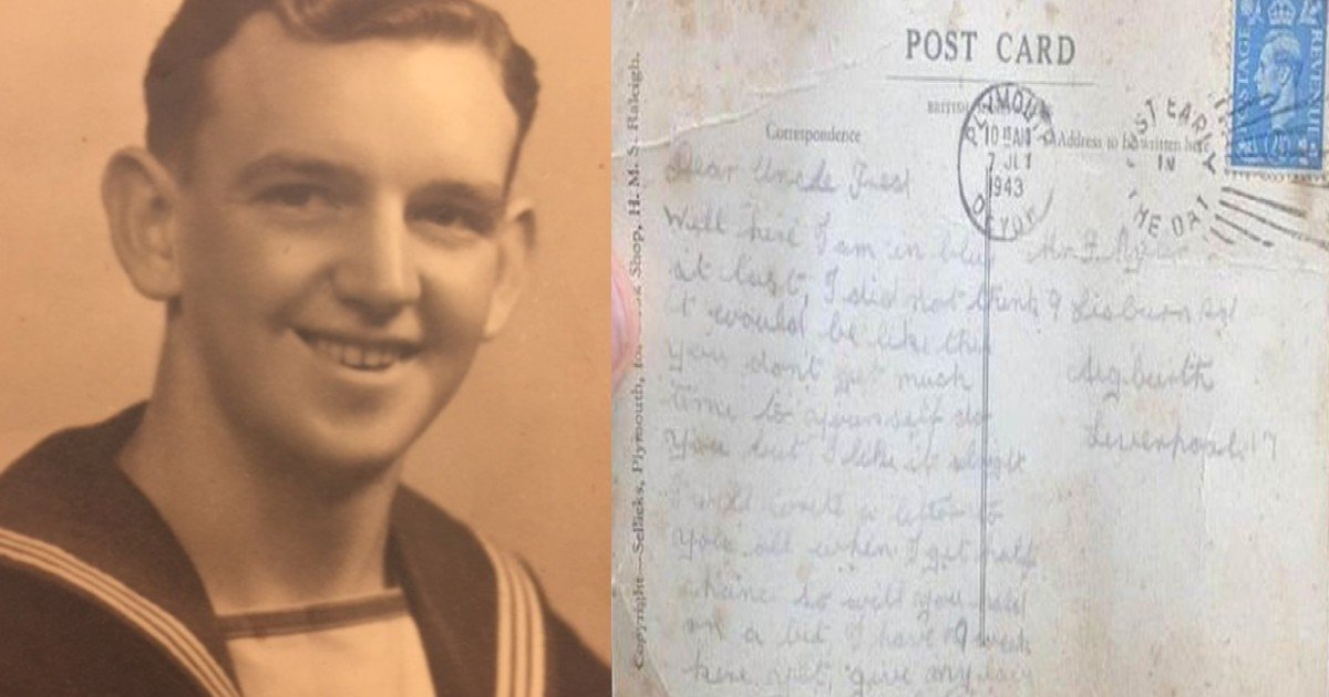 postcard from 1943 bill caldwell