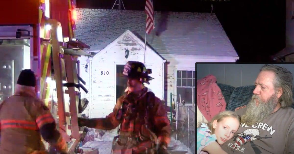 south dakota house fire dad saves kids