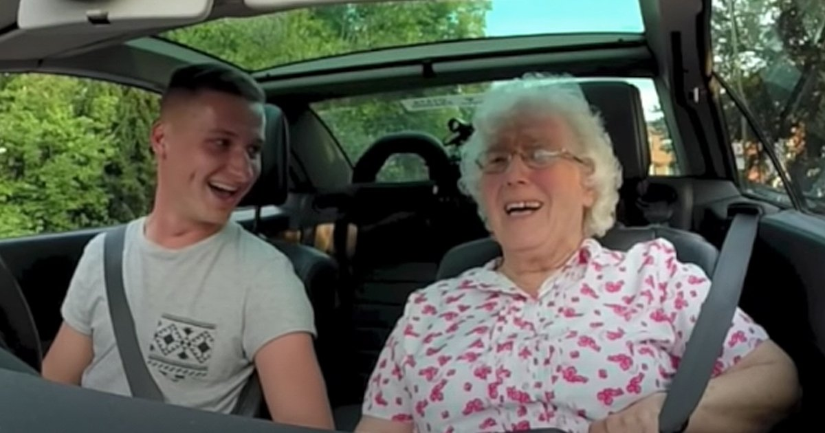 birthday surprise for grandma