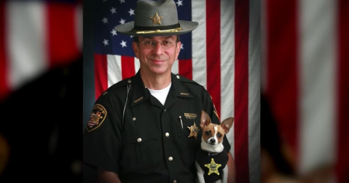 canine partner and sheriff die same day