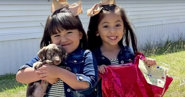 Kansas Twins Tied Their Wishlist to a Balloon And Let Go, Then Stranger 650 Miles Away Finds It