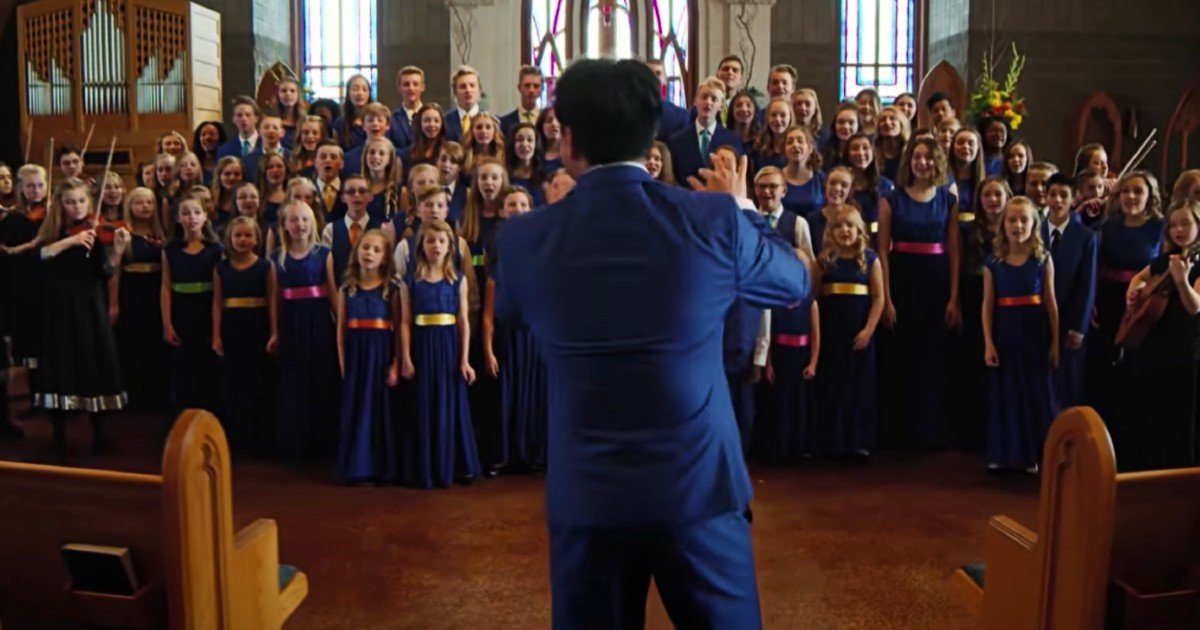 one voice children's choir i can only imagine