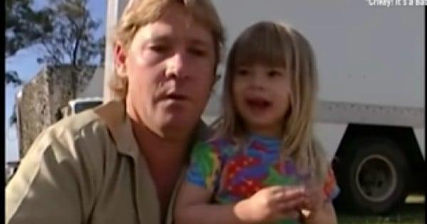 Steve Irwin's daughter Bindi