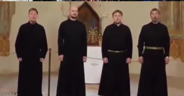 Russian Orthodox Choir chanting