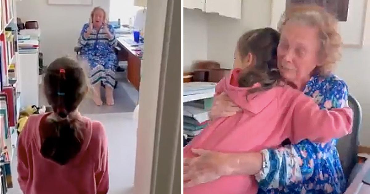 grandma's birthday surprise