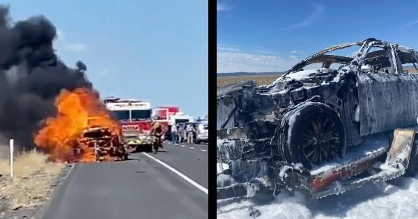 Amy Demos car fire story