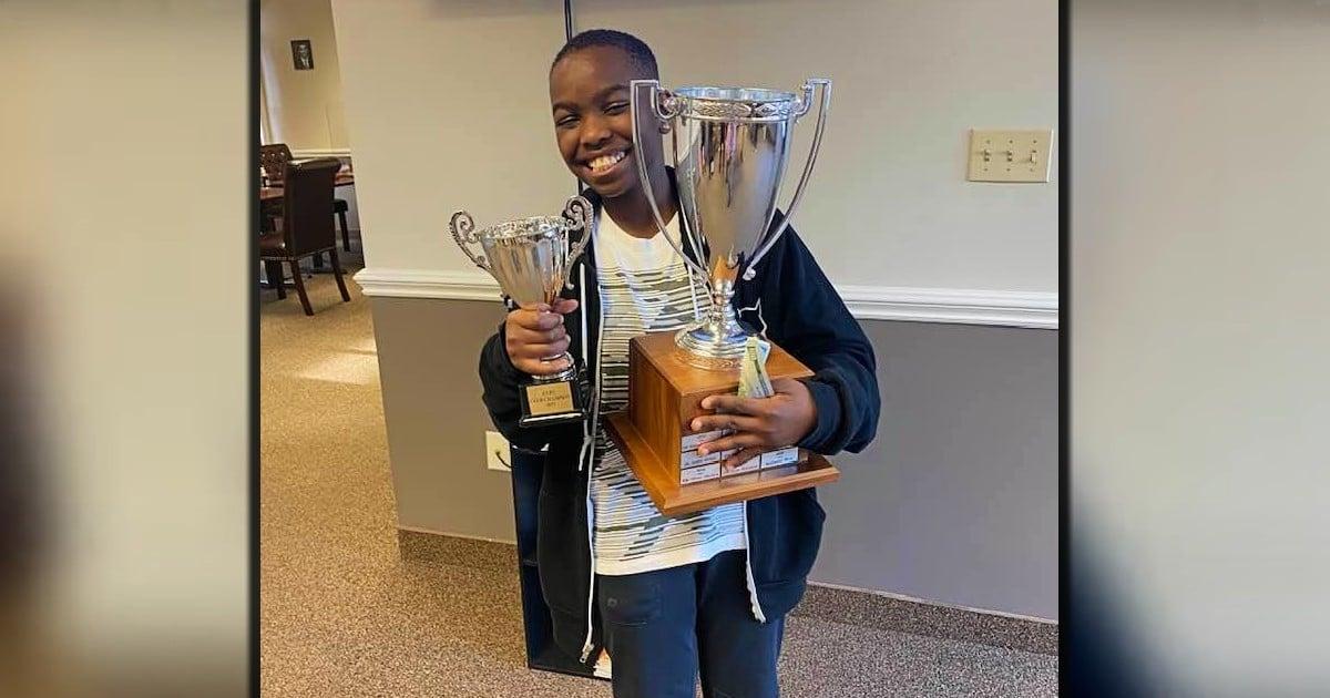 10 year old chess master Tanitoluwa Adewumi
