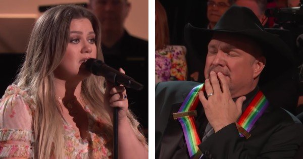 kelly clarkson sings garth brooks song the dance