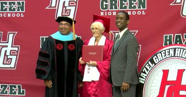 94-year-old graduates