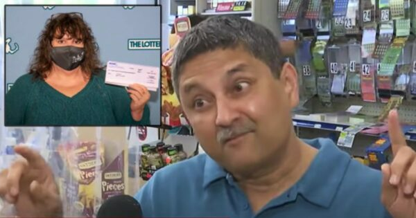 Woman Throws Away $1 Million Lottery Ticket Not Realizing Its Worth So Shopkeeper Pulls It Out