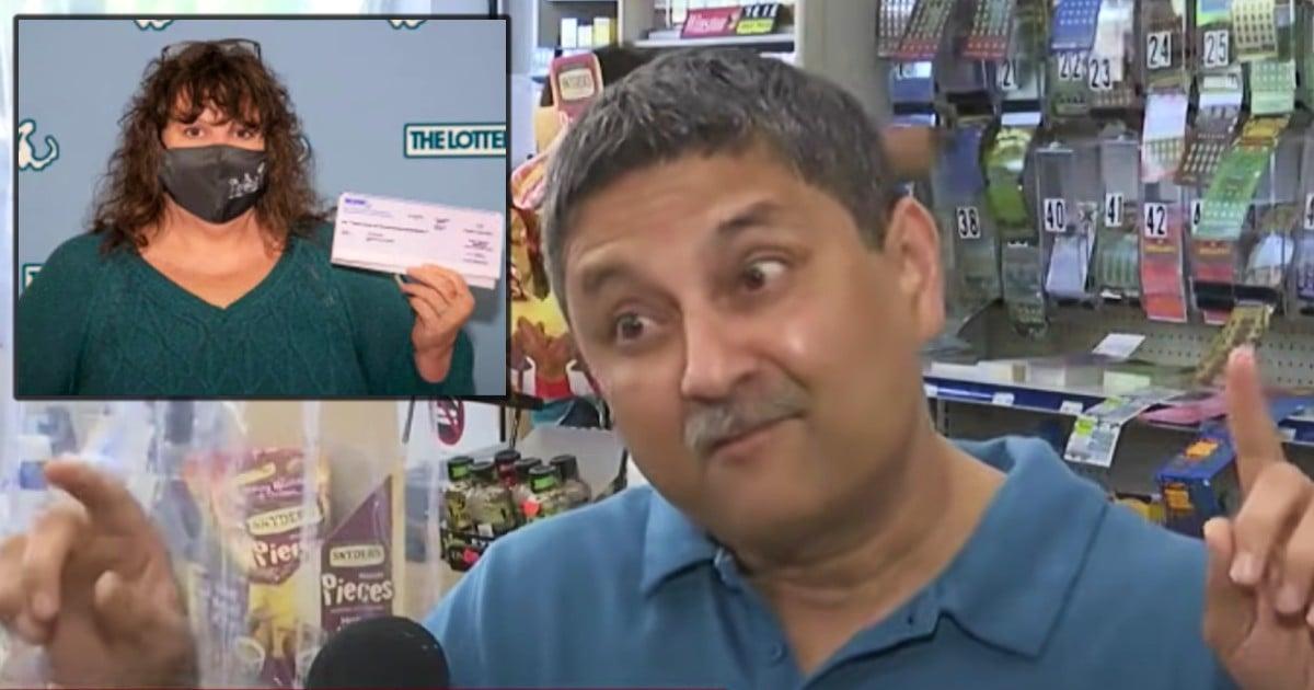 one million dollar lottery ticket