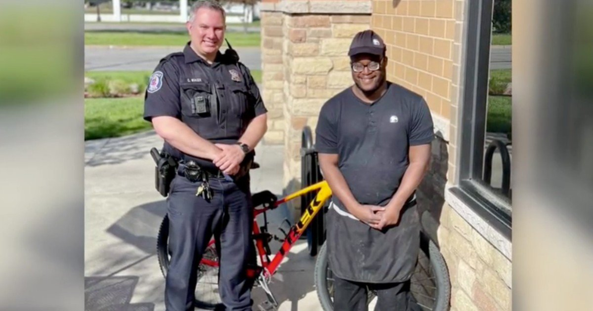 taco bell employee's bike stolen