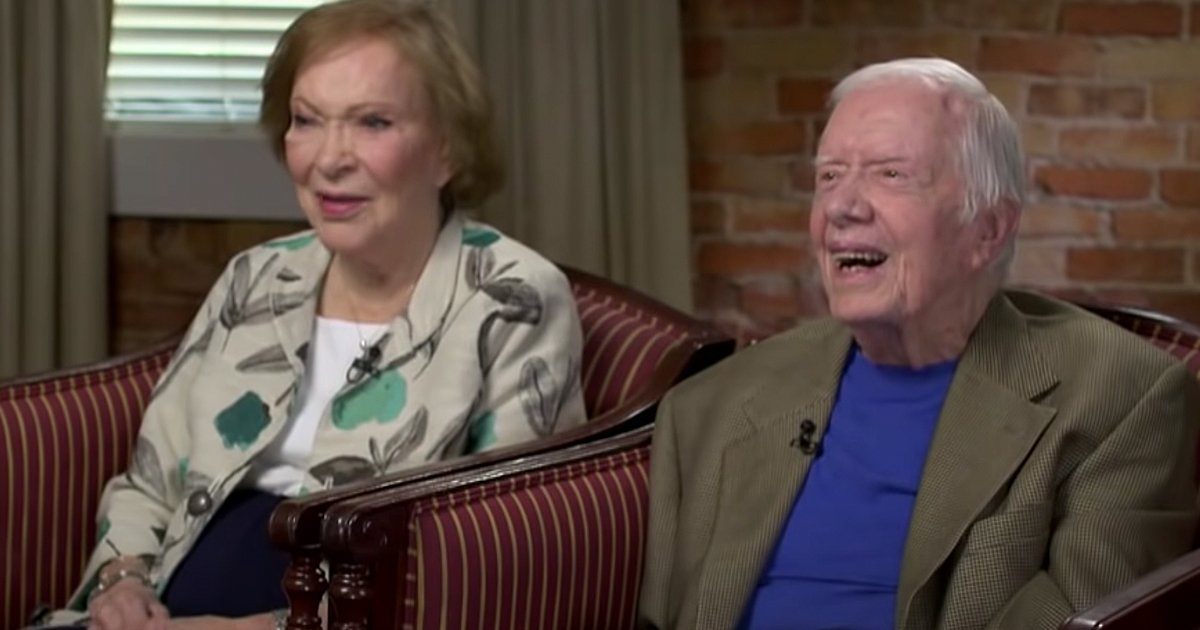Jimmy Carter and wife